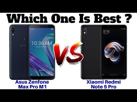 Asus Zenfone Max Pro M1 Vs Xiaomi Redmi Note 5 Pro | Which One Is Best ??