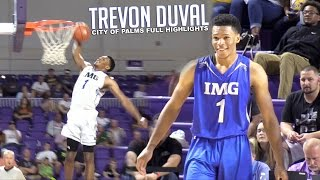 Trevon Duval Shows Why He