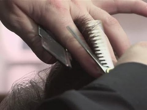 How To Use Hair Thinning Scissors