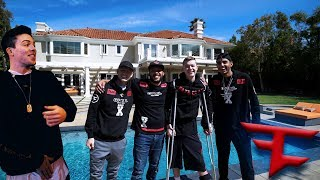VISITING THE BRAND NEW FAZE HOUSE!!!