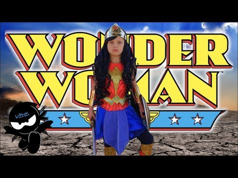 Wonder Woman kids parody