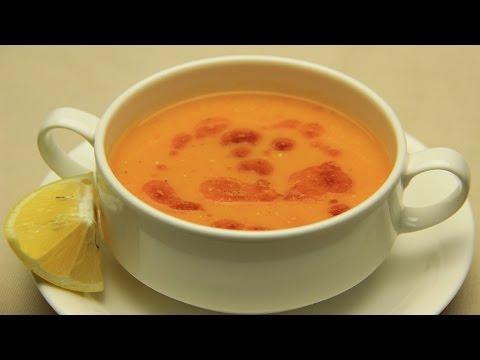 Receta de sopa de lentejas y vegetales - turca tradicional de lentejas