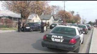Parolee-At-Large Arrested After Manhunt & Foot Chase In Modesto, California - News Footage