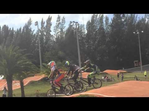 Rusty Noel 2015 front tire blowout