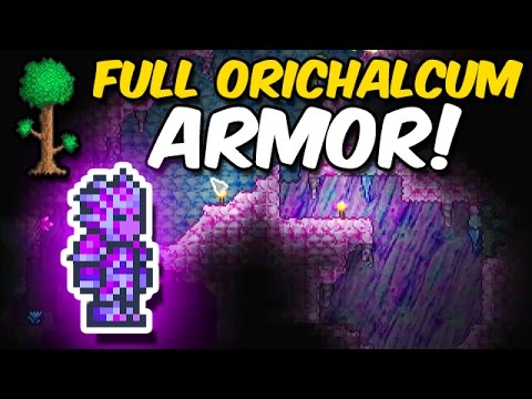 Terraria: FULL Orichalcum Armor!