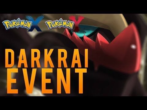 Pokémon X and Y - Darkrai Event!