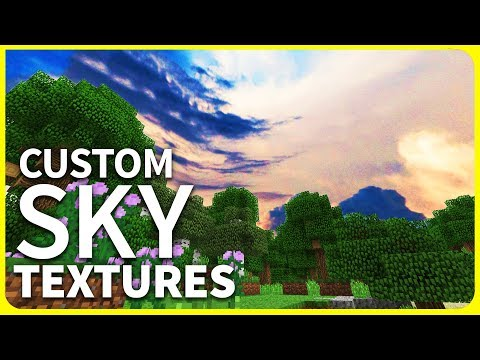 Minecraft PE 1.2 - CUSTOM SKY TEXTURE PACK - New Clouds Textures // MCPE 1.2 iOS & Android