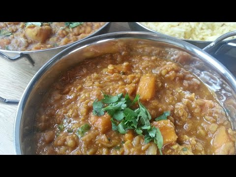 Red Lentil & Butternut Squash Dhal | Slimming Recipes