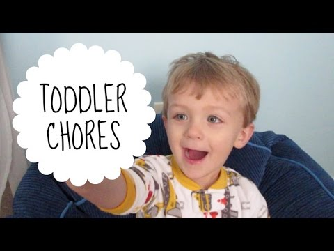 Toddler Chores & Responsibility Chart
