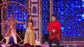Karan Johar Dance With Bride Isha Ambani At Her Sangeet Ceremony At Udaipur
