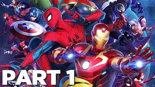 Download MARVEL ULTIMATE ALLIANCE 3 THE BLACK ORDER Walkthrough Gameplay Part 1 - INTRO (Switch) Video