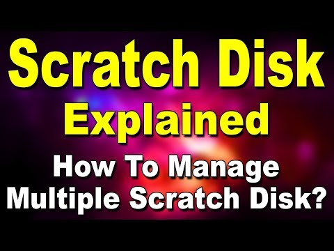 What is Scratch Disk? (Hindi)
