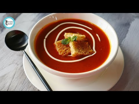 Tomato Soup By Healthy Food Fusion