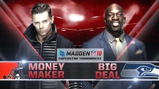 Madden 18 Tournament Rd. 1: THE MIZ vs. TITUS O