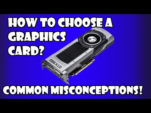 How To Choose A Graphics Card? (2015)