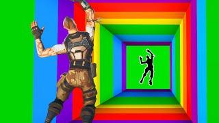 SURVIVE The RAINBOW DROPPER! *IMPOSSIBLE* (Fortnite)