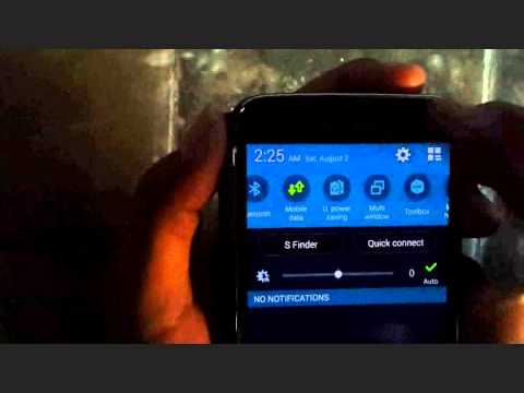 Samsung Galaxy S5 : How to Enable Mobile Hotspot (Android Phone)