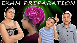 EXAM PREPARATION Memory Game #Study | Easy trick to learn in Exams | Aayu and Pihu Show