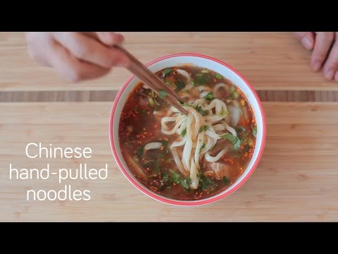 Chinese hand pulled noodles | Video recipe