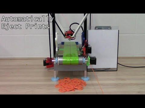 Make 3D Printing Infinite: Automatic Infinite 3D Printer - Conveyor Belt 3D Printer