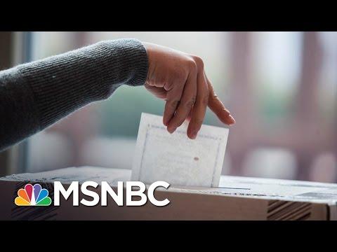 DOJ Sends Election Monitors To North Carolina Over Alleged Voter Discrimination   MSNBC