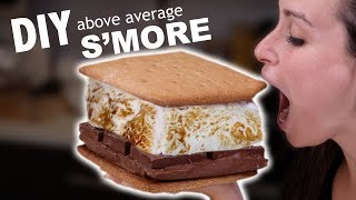 DIY ABOVE AVERAGE S'MORE