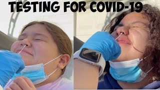 Getting Tested for Covid!!!