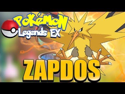 Pokemon Legends Ex - Catching Legendary Bird Zapdos!