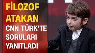 Filozof Atakan Kayalar CNN TÜRK'te soruları yanıtladı, nasıl bir eğitim almak istediğini anlattı