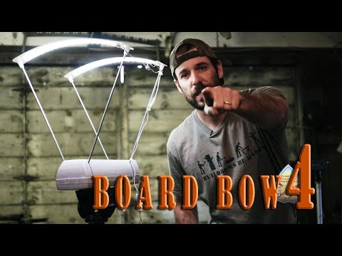 Build a primitive wood bow from a Home Depot board - Part 4