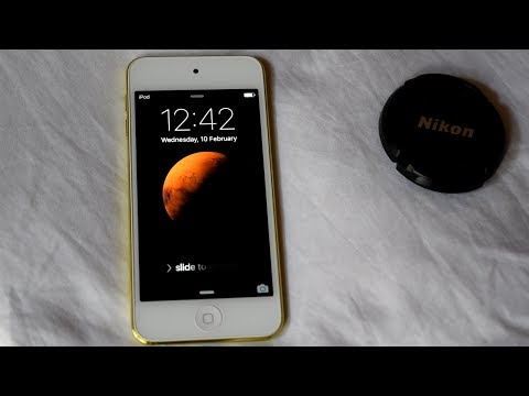 Apple iPod touch 5G Reboot Test   1 Year Old iPod