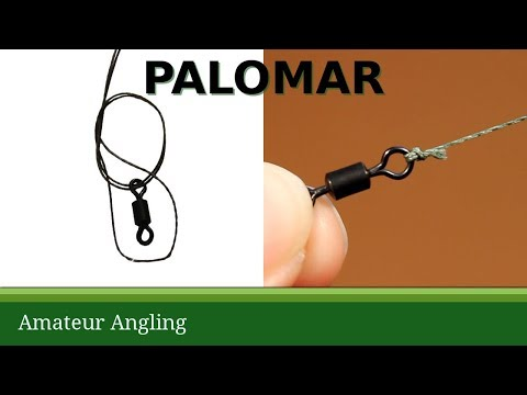 Palomar knot good for braided fishing line