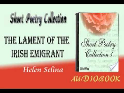 The Lament of the Irish Emigrant Helen Selina Audiobook Short Poetry