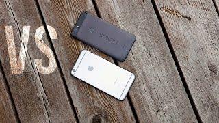 iPhone 6S Plus vs Nexus 6P Comparison: The Best Phones of 2015!