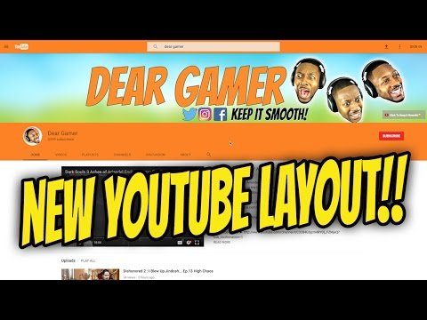 YouTube New Desktop Layout!!  First Look! Review & Impression