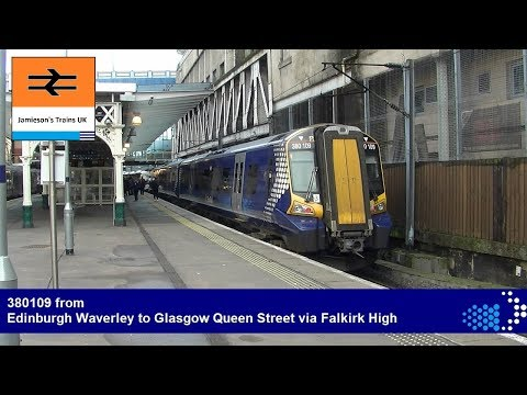 380109 from Edinburgh Waverley to Glasgow Queen Street via Falkirk High