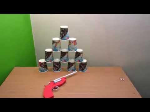 How to make a paper guns