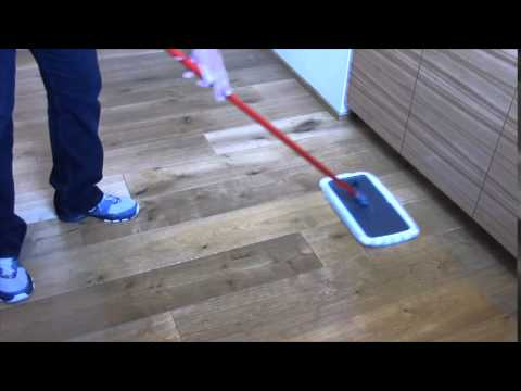 How to Clean your D&M UV Oiled Wood Floors