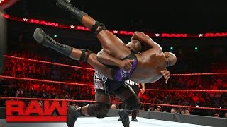 Mark Henry vs. Titus O'Neil - The Tussle in Texas: Raw, Dec. 5, 2016
