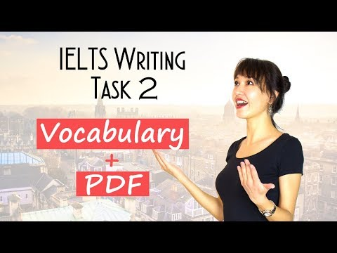 IELTS Writing Task 2 VOCABULARY for Band 7+ | Must-know SYNONYMS