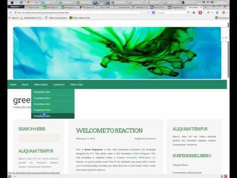 How to Create Dropdown Menu in CSS   RR Foundation Bangla Tutorials