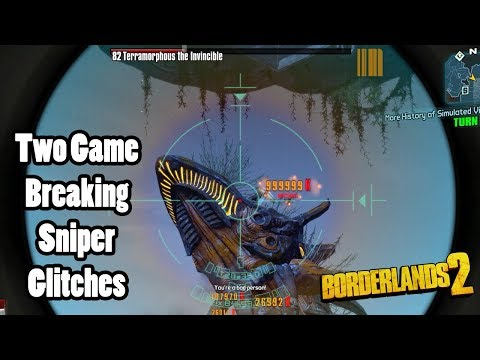 Download Borderlands 2: 2 Game Breaking Sniper Glitches