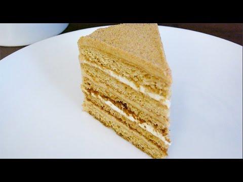 How to make Medovik (Russian honey biscuit layer cake)