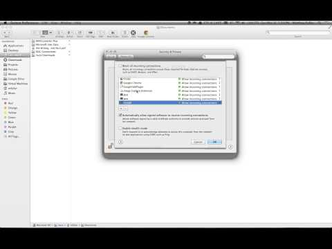 How to Turn Firewall On or Off in Mac OS X