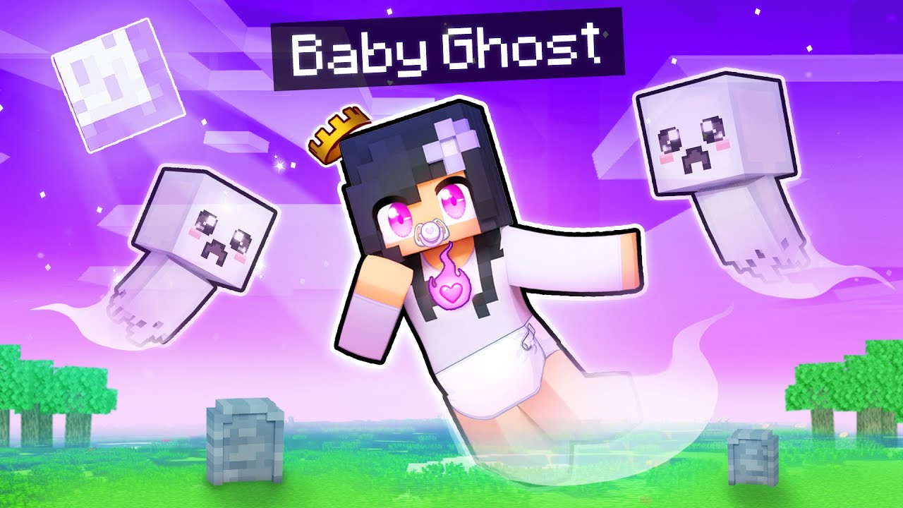 We Became GHOST BABIES In Minecraft!