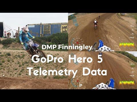 DMP finningly | GoPro Hero 5 Black Telemetry Data | 2017 YZF250