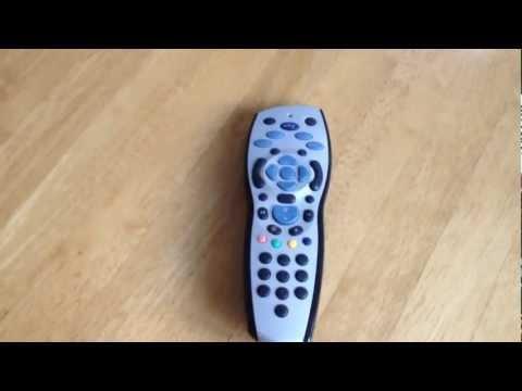 Broken Frozen Sky TV Remote Control Fix