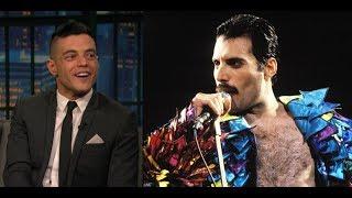 Rami Malek transforms into Freddie Mercury