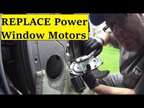 Fix Power Window motor Ford Club Wagon VAN