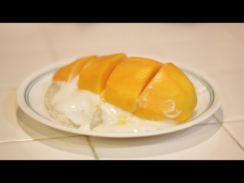How to make Sticky Rice with Mango- MichelleCookingShow